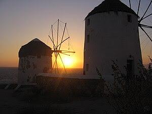 Ελληνικά: Βρέθηκα στην Μύκονο τον Ιούνιο του 2...