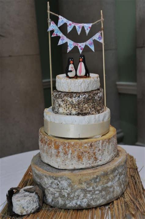 Stacks of cheese make an unusual wedding cake ? SLATERSPARKE
