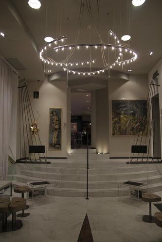 Lobby of Art Hotel Boston