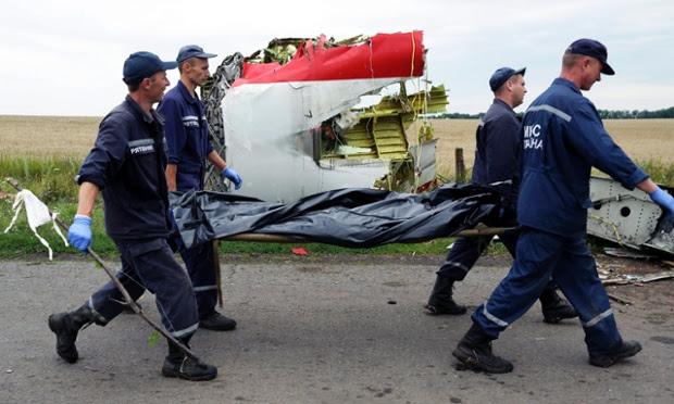 Mayat  Mangsa Nahas MH17