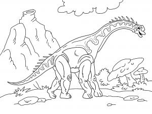 Dibujos De Dinosaurios Para Colorear Paracolorear Net