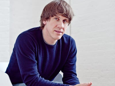 Dennis Crowley, co-founder and CEO of Foursquare