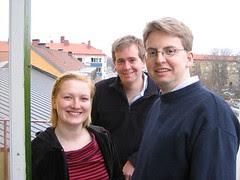 Elise, Paul and Johan