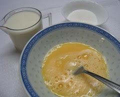 鮮奶燉蛋製作過程01