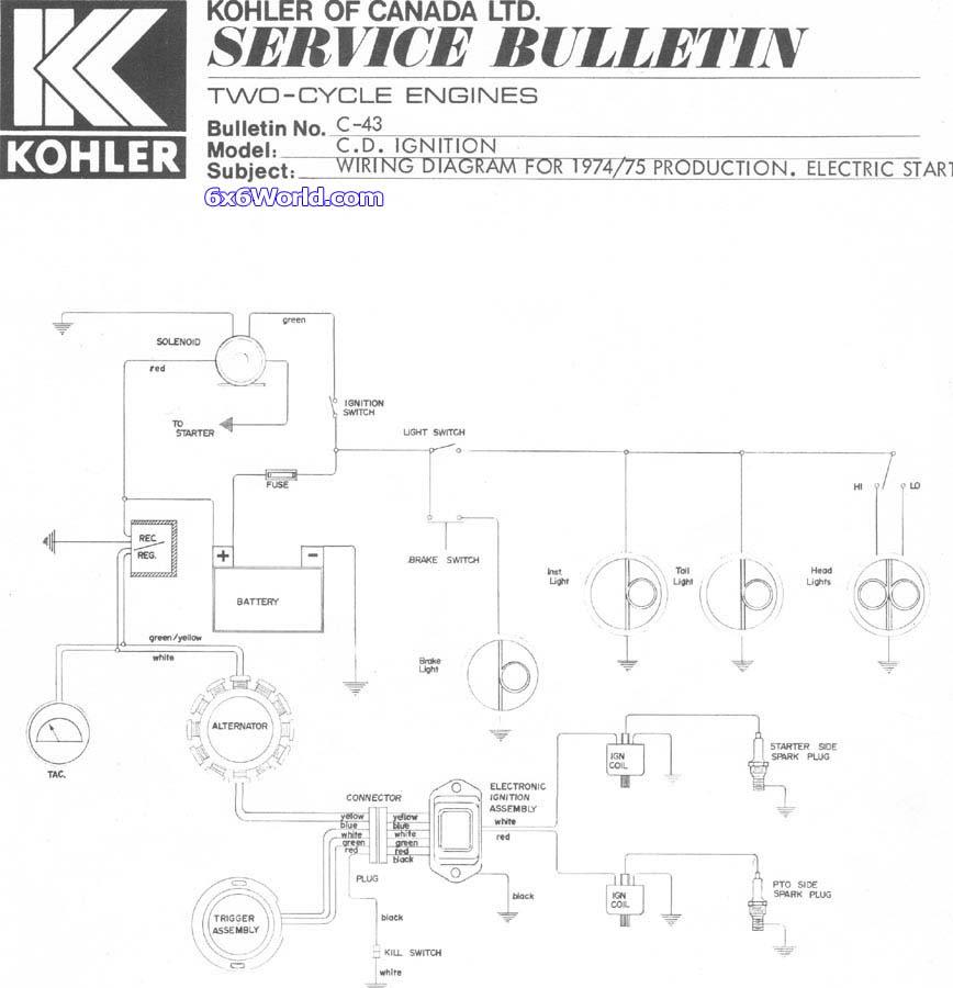 32 Kohler Engine Diagram
