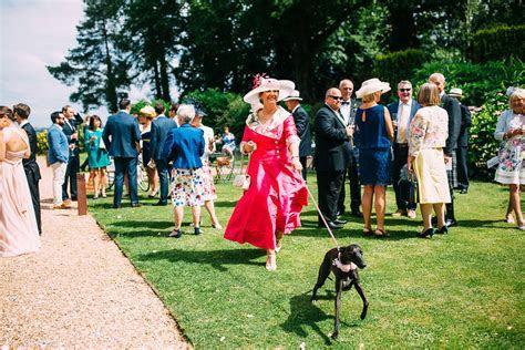 Outdoor Wedding Ceremony Coombe Lodge   Albert Palmer