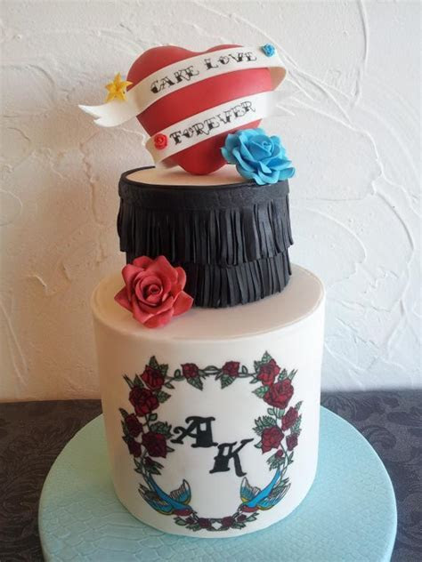 Punk Rock Wedding Cakes That Really Crank Up the Volume