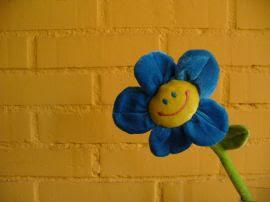 Papel de parede 'Flor Feliz'