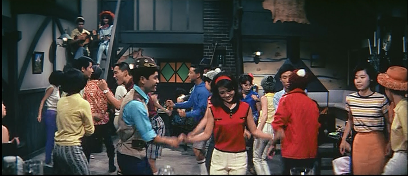 Dance, dance dance, HOLY CRAP MONSTERS!