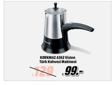 KORKMAZ A362 Vision Türk Kahvesi Makinesi 99TL