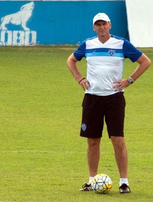 Gilmar Dal Pozzo, técnico do Paysandu (Foto: Oswaldo Forte/O Liberal)