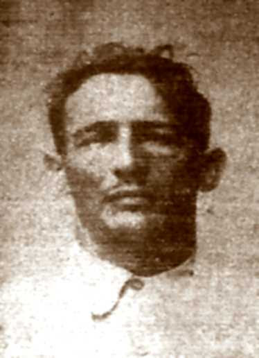 Domingo Germinal en una fotografia de la policia cubana