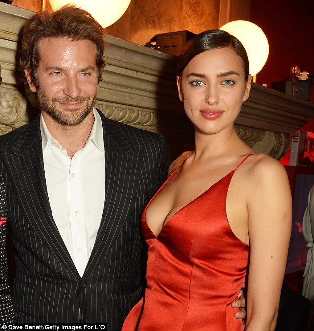 Things are heating up: Bradley Cooper and Irina Shayk 'have discussed marriage' according to E! News. Here they are seen in March