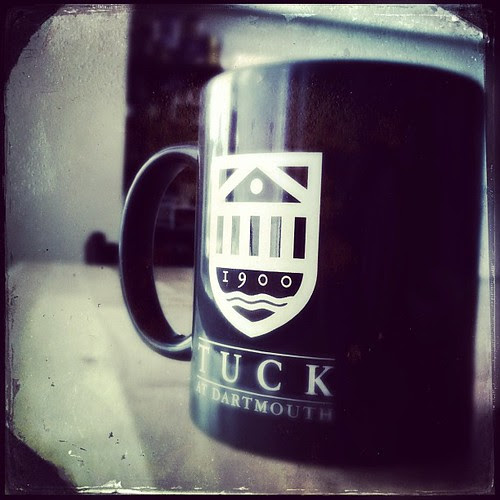 Writing for the school blog does have a few small perks... (I've been wanting to get a Tuck mug so was actually pretty psyched to get this =P)
