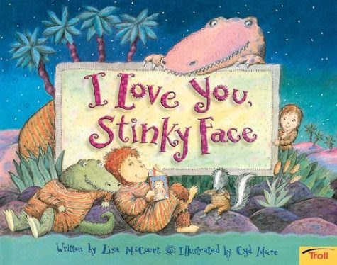 I Love You Daughter. I Love You Stinky Face by Lisa