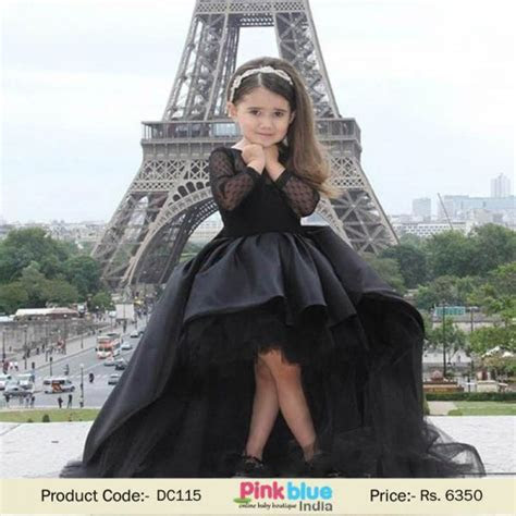 Designer Vintage Couture Evening Prom Gown Dress for Baby