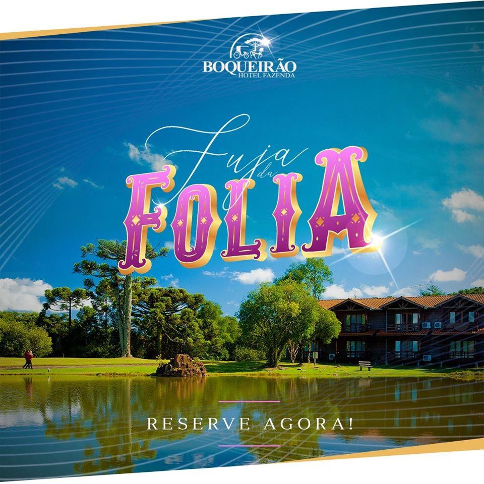 Atenção, ultimos quartos disponíveis para aproveitar o carnaval fugindo da folia e em grande estilo! Boqueirão Hotel Fazenda & Resort de Campo