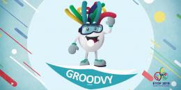 Groodvy, la mascotte pour Sarajevo 2019
