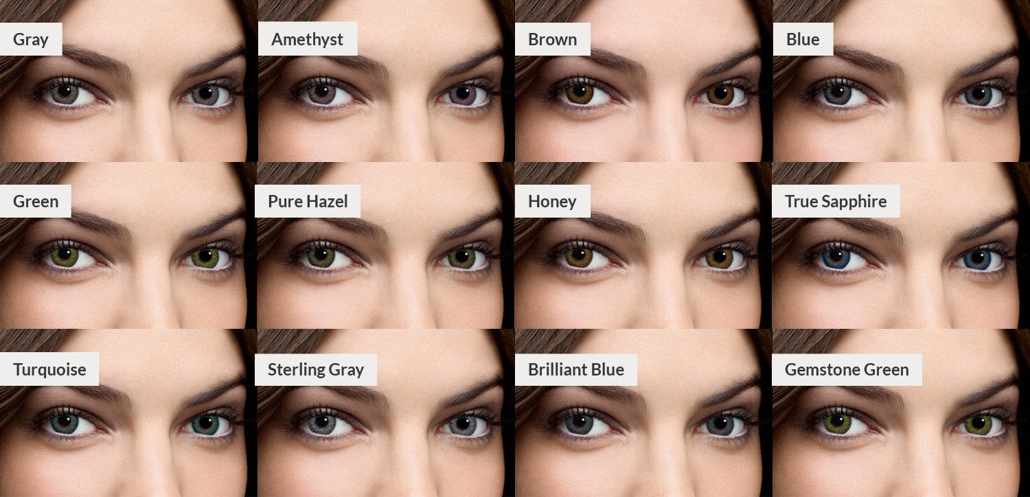 Fresh Look Contacts Colors Chart
