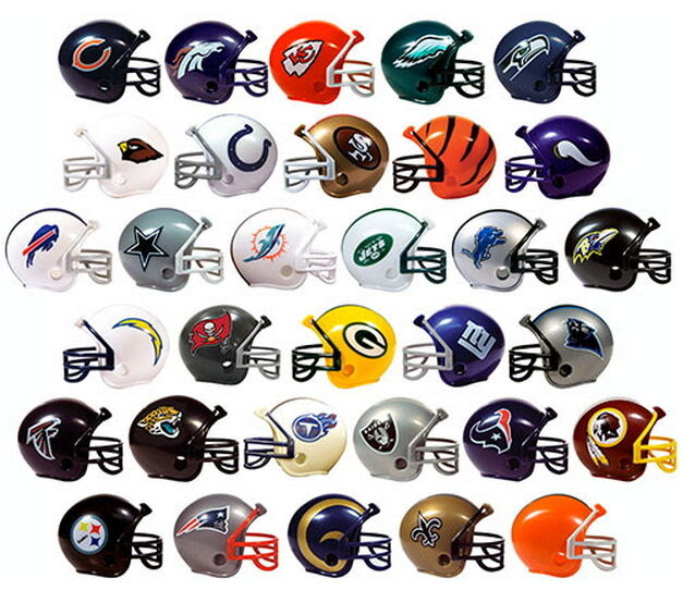 NFL COLLECTIBLE Mini Helmets Set ALL Complete 32 TEAMS 2quot; Gumball Football Bulk  eBay