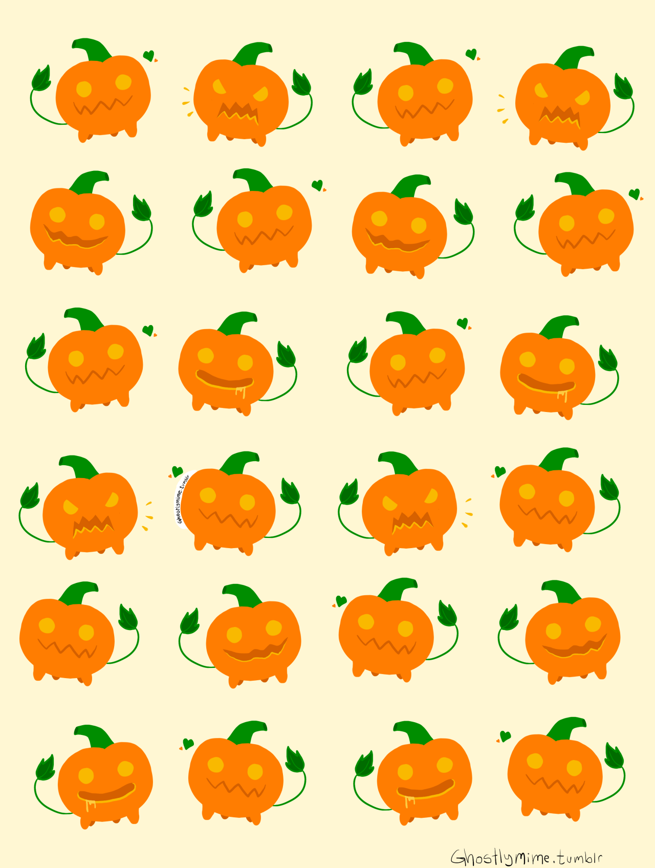 I love pumpkin dog soooooo much !!!! I made a pumpkin dog wallpaper! you can use it if you want!  (don't forget to credit me) please don't reupload my art or sell it, don't do that!… reblogs are okay