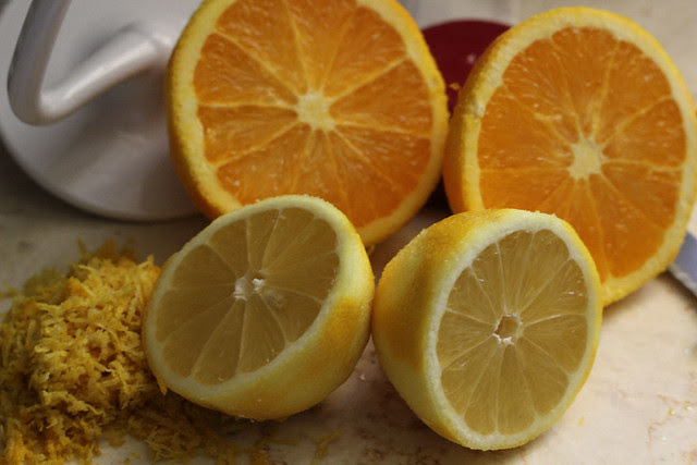 Lemon and Orange Bars