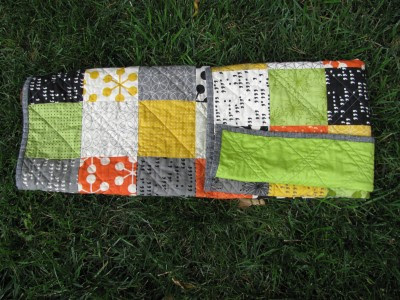 Tucked Quilt Fold (6)