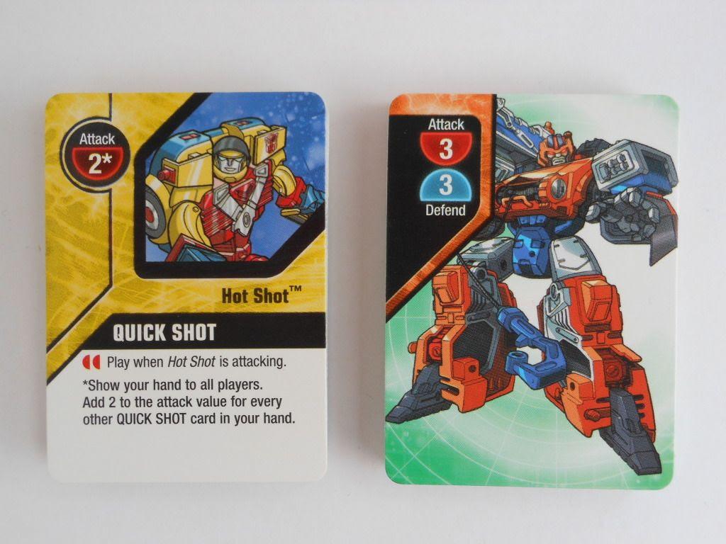 Transformers Armada cards