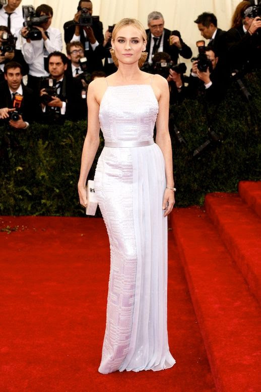 Le Fashion Blog 7 Best 2014 Met Gala Looks Dian Kruger Lavender Light Purple Hugo Boss Gown Side Pleats photo Le-Fashion-Blog-7-Best-2014-Met-Gala-Looks-Diane-Kruger-Hugo-Boss.jpg