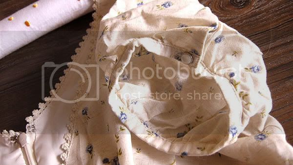 Olive des Olive Puffed Dress with Big Bow