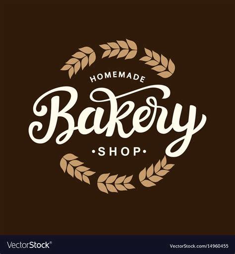 bakery logo template design royalty  vector image