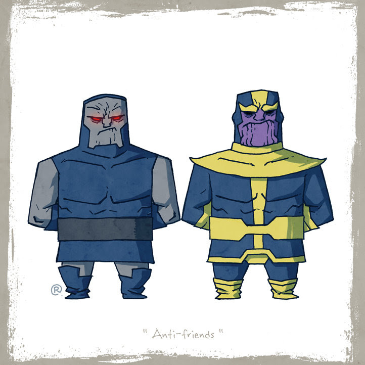Darkseid y Thanos