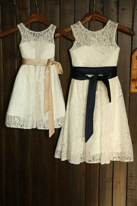 Details about Flower Girl Dress: Rustic flower girl