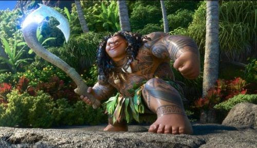 Dwayne Johnson Interview for Moana Movie
