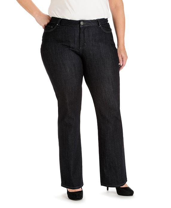 Lee Curvy Fit Paxton Bootcut Plus Size Jeans