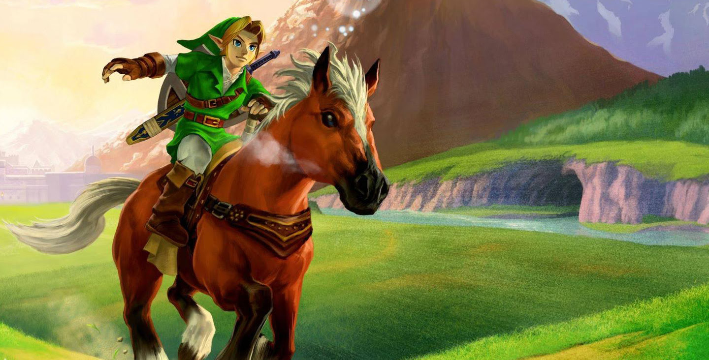 The Legend Of Zelda Ocarina Of Time Wallpaper 1440x732
