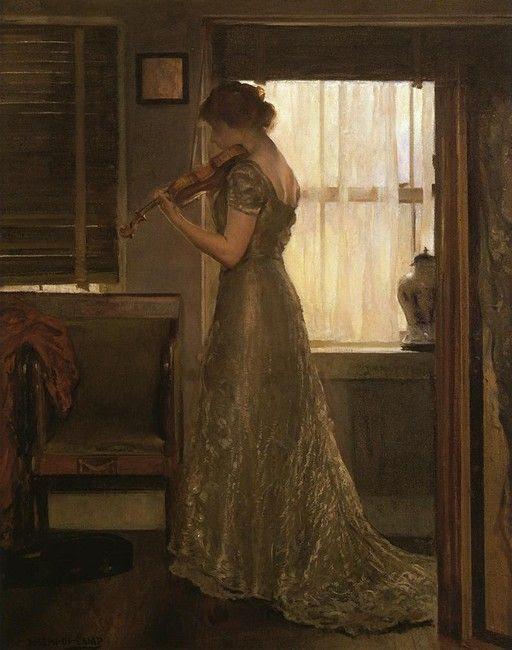 El violinista (también conocido como El Violín. Muchacha ONU de la estafa violín Iii)