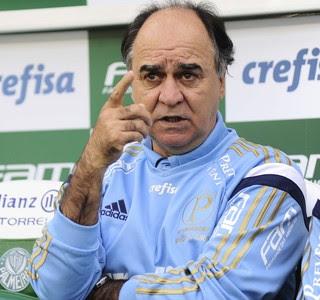 Palmeiras x São Paulo Marcelo Oliveira (Foto: Marcos Ribolli)