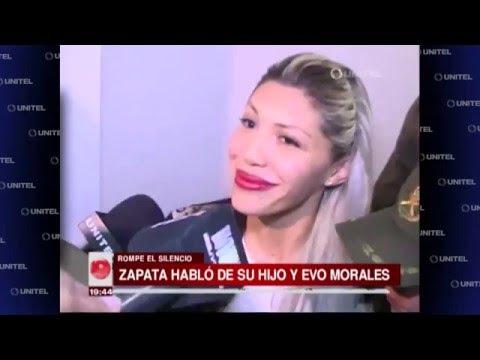 VIDEO: GABRIELA ZAPATA ROMPE EL SILENCIO Y HABLA SOBRE SU HIJO Y EVO MORALES