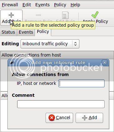 Firestarter edit policy