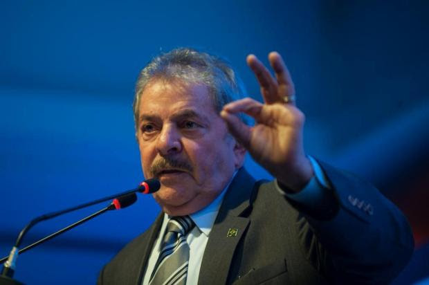 """Lula telefona a condenados do mensalão e diz """"estamos juntos""""  Marcelo Camargo/ABr"""