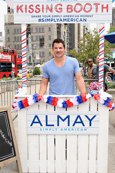 Nick Lachey Kicks Off Almay Simply American Experience in New York City