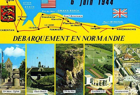 Αποτέλεσμα εικόνας για carte du débarquement du 6 juin 1944