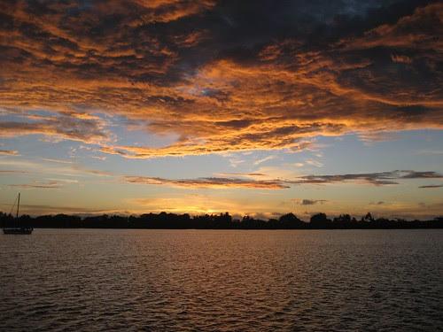 Saweni Bay sunset