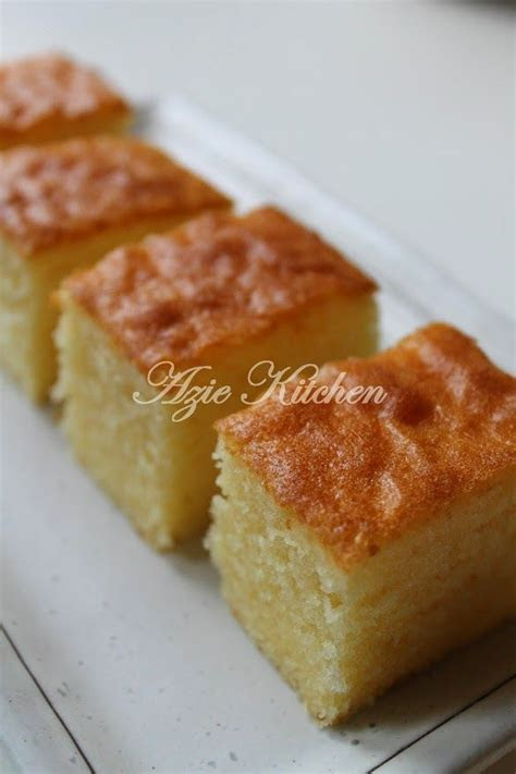 azie kitchen moist butter cake kegemaran azie