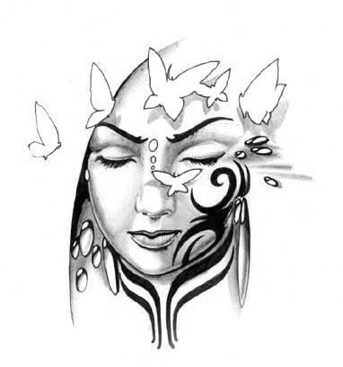 Free Black And White Tattoo Designs Download Free Clip Art Free