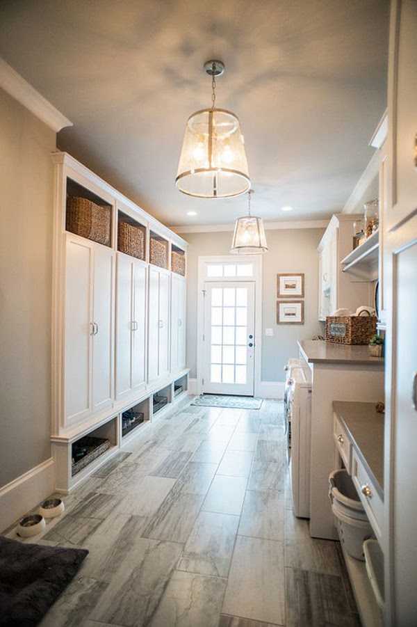 22 Most Popular Mudroom Ideas For Extra Storage | HomeMydesign
