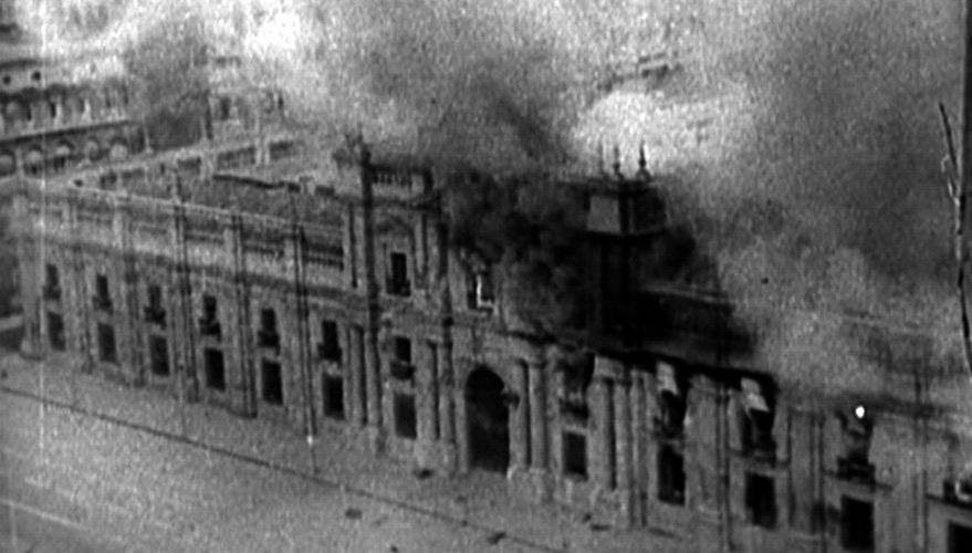 Bombardeo al Palacio de la Moneda 1973