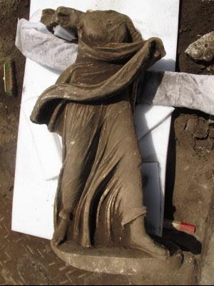 Scoperte le statue cantate da Ovidio