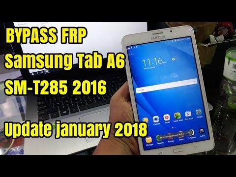 Galaxy Tab A Frp Bypass